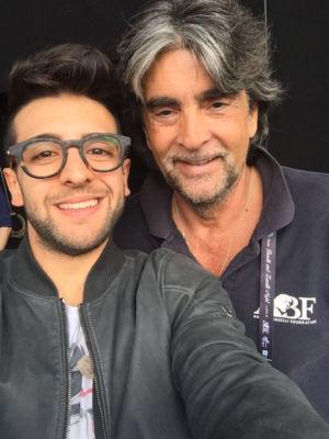 Piero Barone (Il volo) e Virginio Fedeli