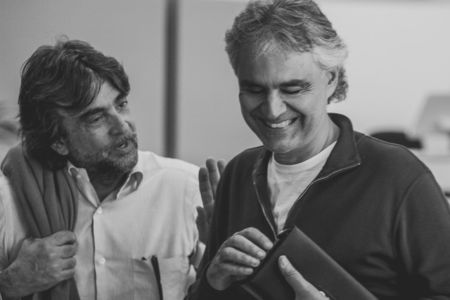 Virginio Fedeli e Andrea Bocelli