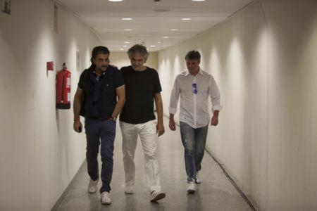 Virginio Fedeli, Andrea Bocelli E Luca Casini